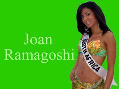 Joan Ramagoshi Miss South Africa wallpaper