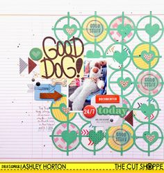 The Cut Shoppe: Good Dog! & New Cut Files!