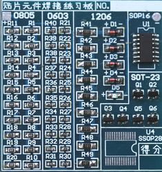 Normally We Use Through-Hole Components For DIY Electronics. SMD Takes Lesser Space. Here is a List of SMD Basic Electronic Components.