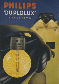 Our Philips Duplolux Advertisement ca 1938 | History