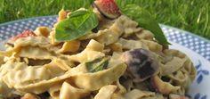 Gluten-Free Recipe: Creamy Fig & Basil Pasta