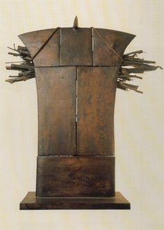 Costantino Nivola - La scultura dell'ultimo decennio - Boscaiolo  web.tiscali.it