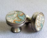 Map drawer pulls, track your travels!