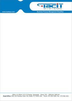 45 free letterhead templates examples company.html