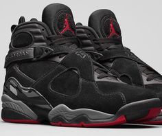 825344a19ad Authentic Cheap Air Jordan 8 Shop with Confidence Authentic Cheap Air Jordan  8 Cement Black Gym Red Black Wolf Grey Basketball Shoe