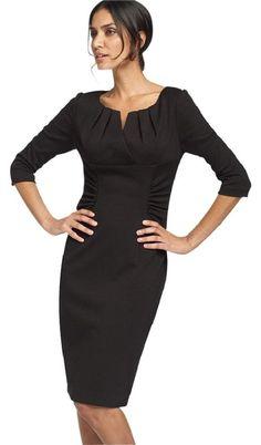 Adrianna Papell Ruched Ponte Knit Sheath Dress via Nordstrom Sheath Dress, Peplum Dress, Bodycon Dress, Office Dresses, Dresses For Work, Petite Dresses, Diy Dress, Adrianna Papell, Nordstrom Dresses