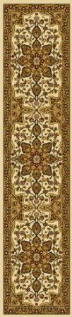 """Home Dynamix Royalty Traditional Ivory Area   1'9"""" x 7'2"""" Runner"""