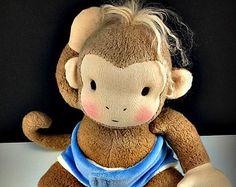 PDF Muster Puppe Wig Cap tibetischen Lammfell Perücke von LaliDolls