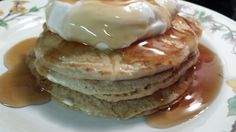 Sprouted Wheat Pancakes