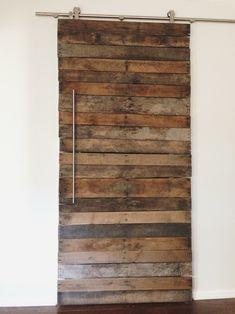DIY Pallet Wood Door