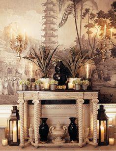 """Em um livro publicado em Outubro do ano passado, """"Fifth Avenue Style"""", o decorador Howard Slatkin mostra seu apartamento na 5ª Av., em Ne..."""