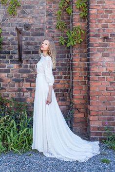 Fittings in Helsinki! | Minna.co.uk #Indiebrideuk #bohemian #bridal #alternativewedding #weddingdress #greenwedding
