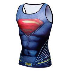 スーパーマンg-6 ymをシングレットアベンジャーズ3南北戦争メンズタンクシャツトップスボディービルフィットネス男性のストリンガータンクトップ