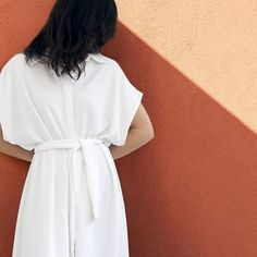 Aurora women collection Already available on our page theaurora.studio  #summer  #minimalcollection  #jumpsuit  #relaxedshape  #designedinportugal  #white