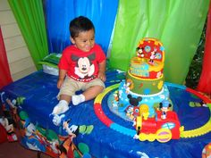 """Photo 2 of 22: Mickey Mouse Clubhouse / Birthday """"Rafael's First Birthday"""" 