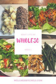 Whole30 meals approved recipes food healthy skinny paleo easy what I ate in a week