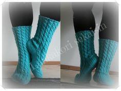 Unipalmikko sukat :)    #knitting #woolsocks #neulominen #unipalmikkosukat #nallelanka #novita Diy Crochet And Knitting, Knitting Socks, Knit Socks, Womens Wool Socks, Boot Cuffs, Yarn Colors, One Color, Colour, Leg Warmers