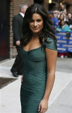 Glee-Lea-Michele...my next haircut...and color...coming soon