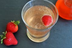 Strawberry Shrub Soda