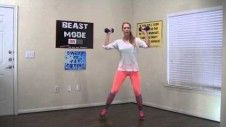 This 15 minute pregnancy workout is the perfect prenatal exercise routine to stay in shape during pregnancy. Follow Lizzy through the prenatal workout and pregnancy exercises. A light pair or dumbbells is recommended, but not mandatory for the pregnant exercises. The prenatal exercises can be done from the comfort of your home.