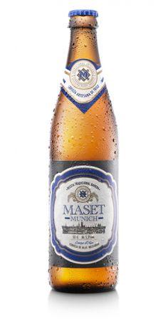 Cerveza Maset Munich.  Suave, refrescante y afrutada. Maset Munich es una cerveza artesanal de trigo, elaborada siguiendo la receta de los maestros cerveceros de Baviera en Alemania. Es suave, ligera y afrutada. En el proceso de esta cerveza artesanal de trigo, la levadura no se filtra, por eso tiene una apariencia turbia y un color pálido, que da lugar a su nombre más popular weissbier o cerveza blanca.
