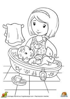 1000 images about coloriage maman papa on pinterest - Dessin pour maman et papa ...
