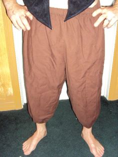 medieval renaissance pirate sca brown pants by medievalmomdesigns, $15.00 Renaissance Pirate, Medieval, Brown Pants, Pirates, Parachute Pants, Harem Pants, Trending Outfits, Vintage, Etsy