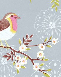Tapet Early Bird 05 från Pip Studio