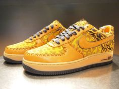 Air Force 1 Bespoke from Nike Harajuku.  Pic from NikeiD!
