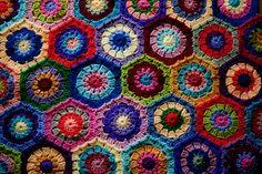 Hexagon Afghan | par MossyOwls