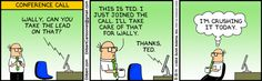 Wally - My Hero!  ;-)  The Official Dilbert Website featuring Scott Adams Dilbert strips, animations and more