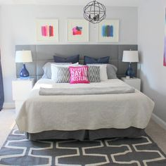Master Bedroom Before & After home remodel
