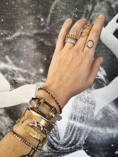 that quartz bracelet! <3