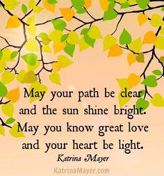 Heart quote via www.KatrinaMayer.com