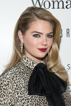 Kate Upton has not only toned down her signature bright blonde, but let her roots grow out for an edgy touch.   - MarieClaire.com