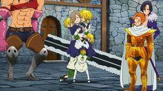 Anime Meme, Anime Oc, Seven Deadly Sins Anime, 7 Deadly Sins, Sir Meliodas, Chica Gato Neko Anime, Meliodas And Elizabeth, Black And Gold Watch, Manhwa