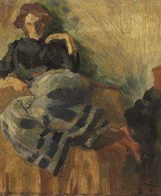 Umberto Boccioni - Figure, 1909