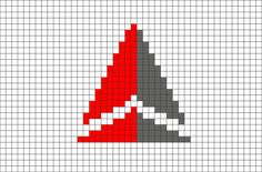 Delta Air Lines Pixel Art