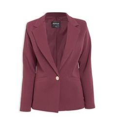 Buy Inwear Rose Pink Blazer Online | Truworths Revere Collar, Wardrobe Ideas, Jackets Online, Pink Roses, Fashion Online, Lady, Sleeves, Stuff To Buy