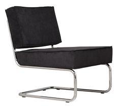 Zuiver fauteuil Ridge Rib Lounge | Stoelen | FunDesign.nl