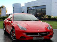 Used 2012 ( reg) Red Ferrari FF for sale on RAC Cars