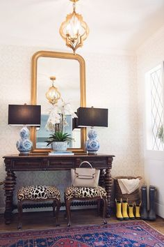 Entryway style by House of Harper - Classic and elegant beauty.