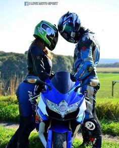 Bike couple shoot