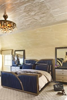 Bedroom by Kelly Wearstler - Blog Post on Indigo