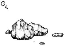 Great tutorial on drawing and shading rock forms. Trying to practice value shifts. So this was an excellent find.