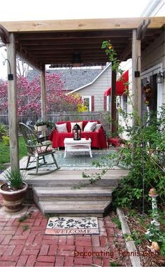 lovely outdoor deck....