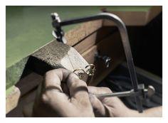 Christina Debs Fine Jewelry's workshop.
