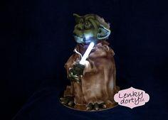 5D cake Yoda
