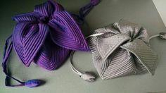 Pochette en bouti de soie faites par mamie cool