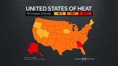 The U.S. just had its 2nd-warmest year on record scope of warmth was  'unparalleled'